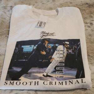 """NWT - Michael Jackson """"Smooth Criminal"""" Tee-Shirt"""